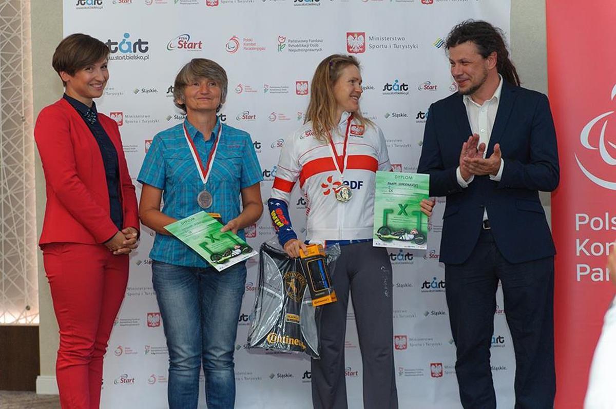 Andrychowianka na międzynarodowym podium