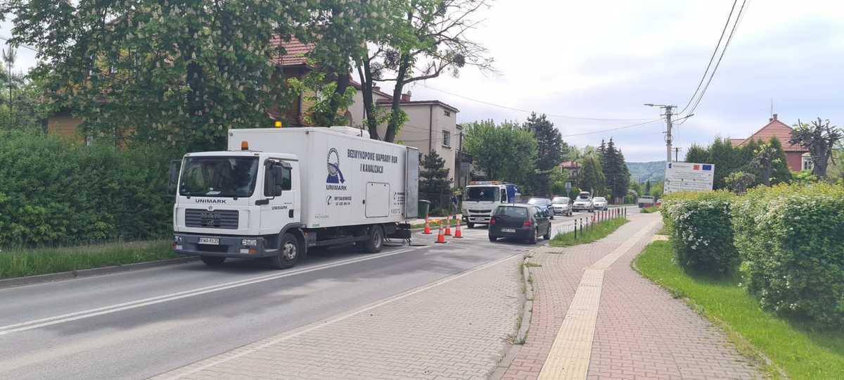 Od środy do piątku ulica Dąbrowskiego będzie zamknięta