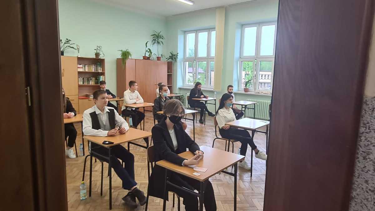 Trzy dni egzaminów w podstawówkach [FOTO]