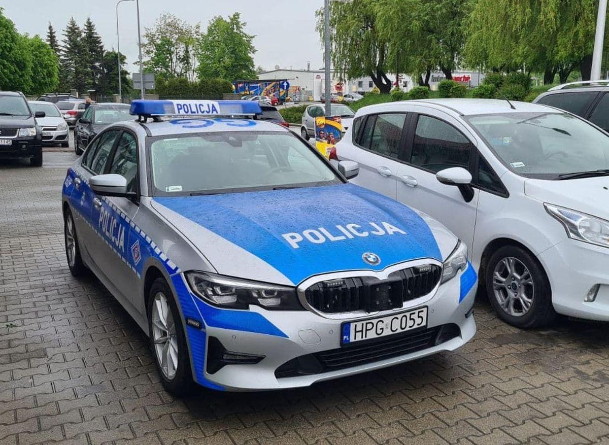 Duża akcja krakowskiej drogówki w Andrychowie, Wadowicach i Kalwarii