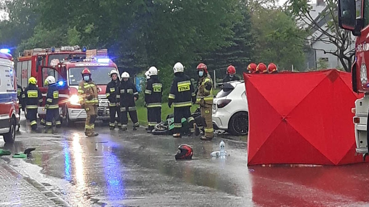 Tragiczny wypadek na drodze we Frydrychowicach [AKTUALIZACJA]
