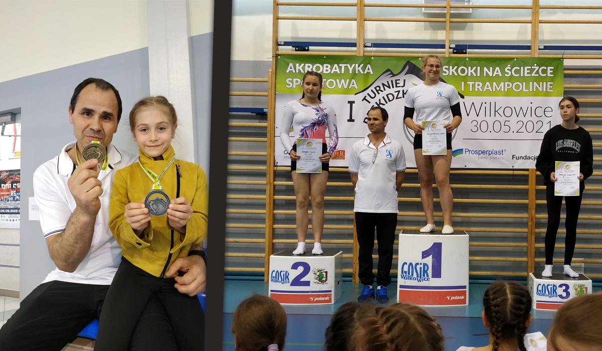 Sukcesy akrobatyczne młodzieży z Kęt i Andrychowa