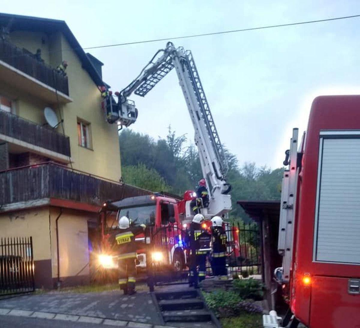 Niebezpieczne pożary. Szybka akcja strażaków