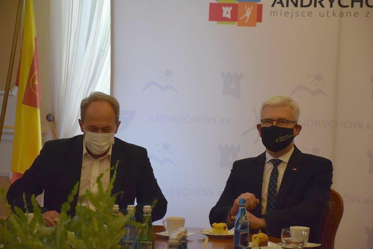 Wiceminister klimatu zachwycony pomysłem andrychowskich władz