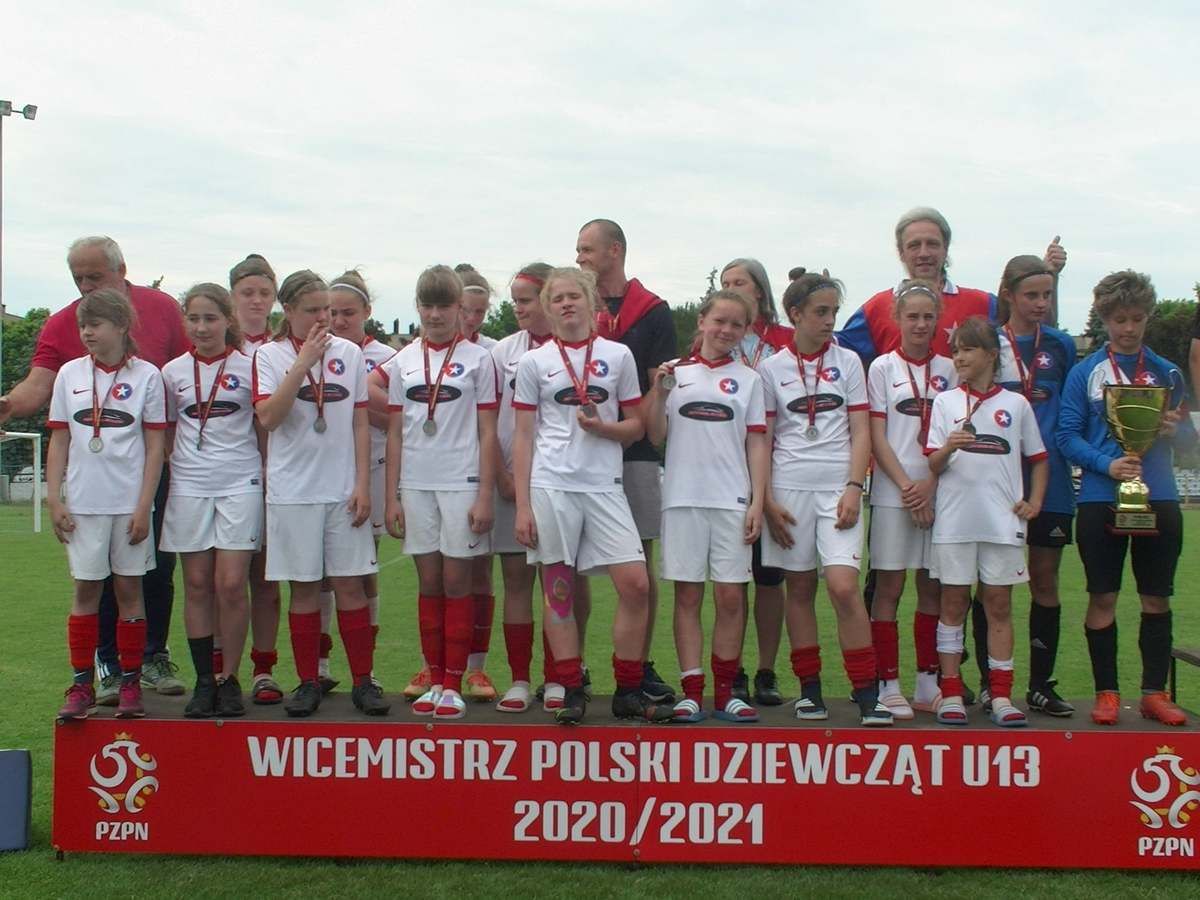 Piłkarki Wisły Brzeźnica wicemistrzyniami Polski