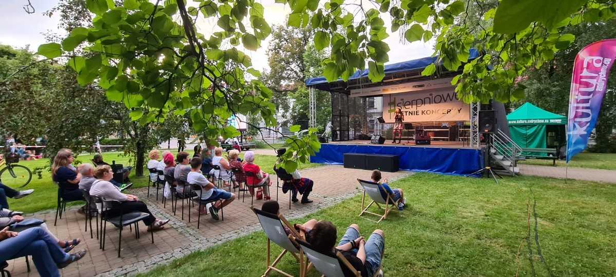 Koncerty w plenerze wracają do Andrychowa