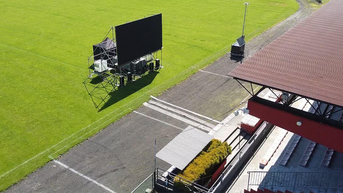 Mistrzostwa Europy na wielkim telebimie w