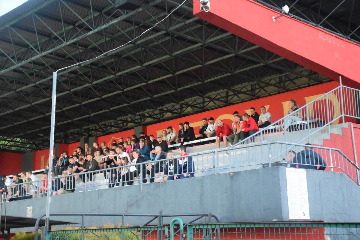 Mecz otwarcia w strefie kibica w Andrychowie