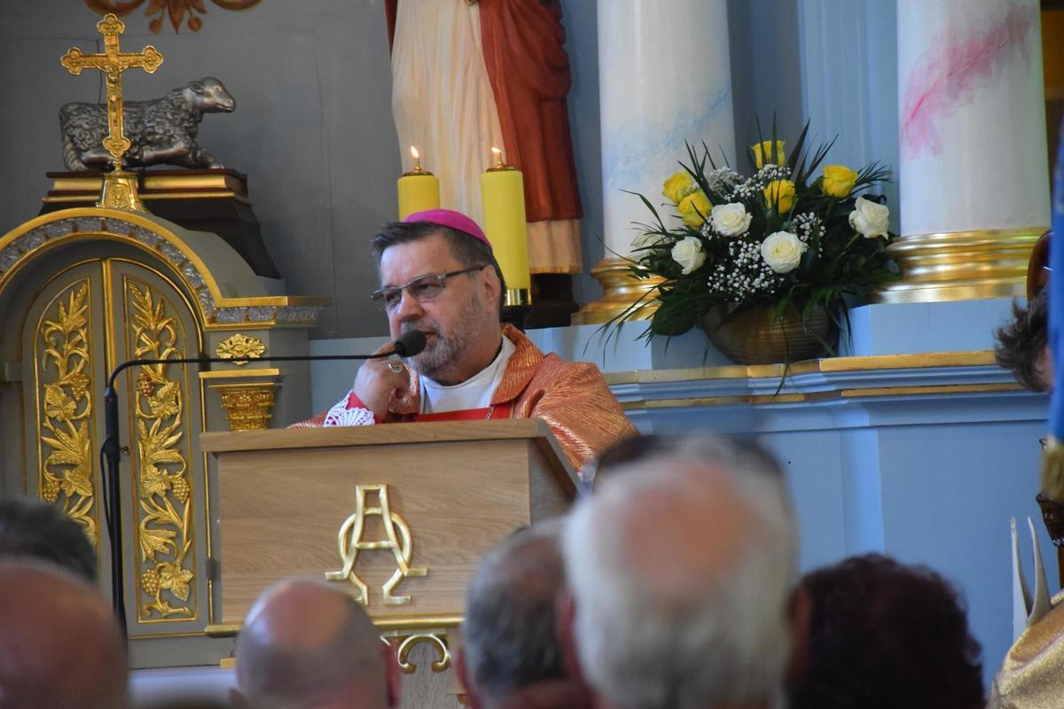 Biskup z Boliwii poświęcił wyremontowaną kaplicę [FOTO]