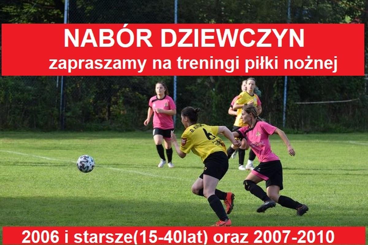 Nabór dziewczyn do drużyny piłki nożnej
