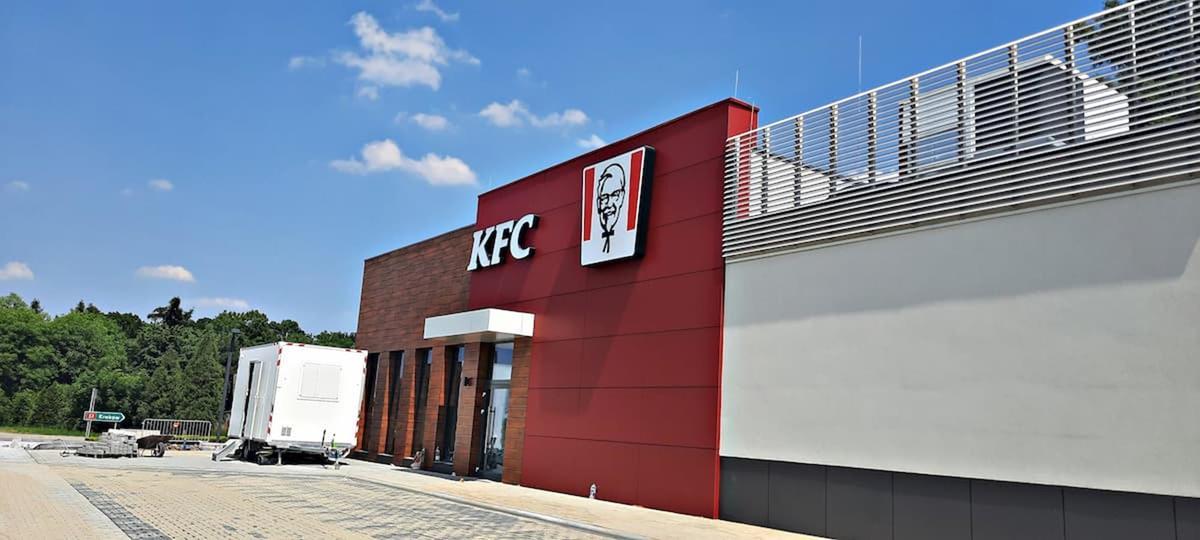 Budowa KFC na finiszu