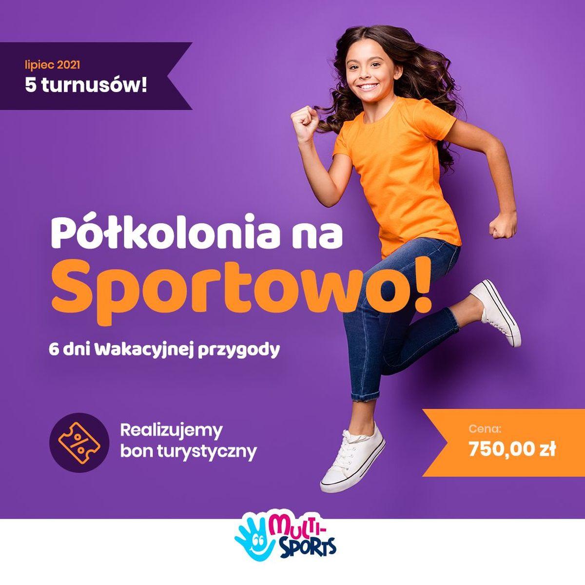 Półkolonie na sportowo w Andrychowie i Wadowicach