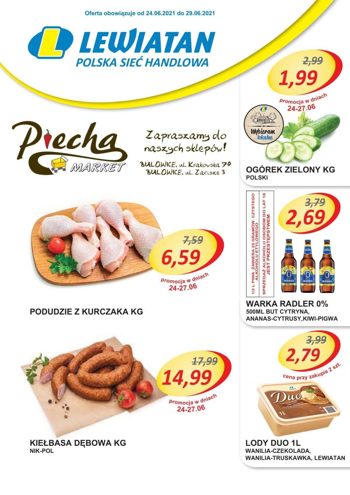 Lewiatan Piecha Market w Bulowicach. Nowa gazeta