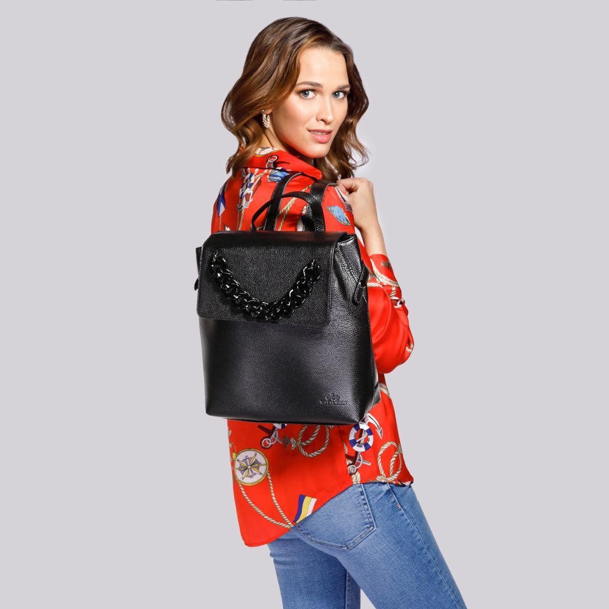 Co zamiast torebki? Wybierz modne plecaki damskie!   Wittchen