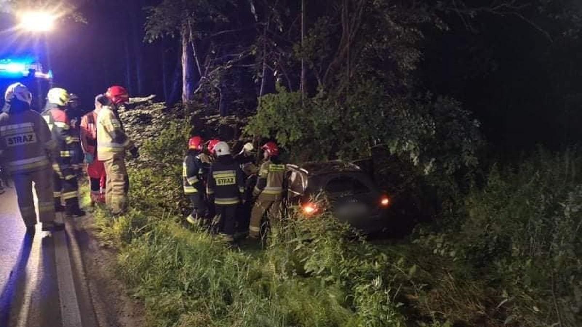Niebezpieczne zdarzenie drogowe na Żeromskiego