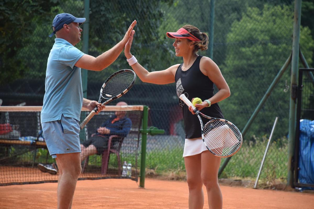 Rozegrali turniej tenisowy. Zobaczcie, kto wygrał [FOTO]