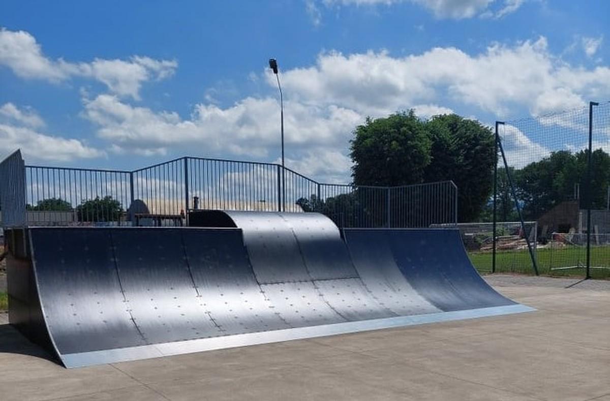 Skatepark w Kętach jak nowy