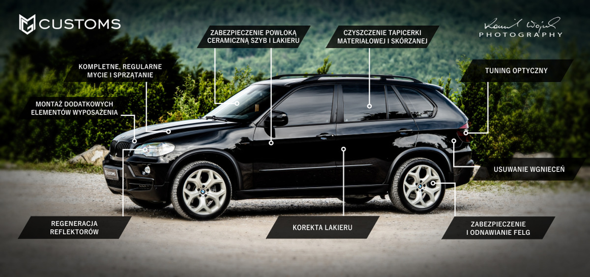 MG CUSTOMS - Profesjonalny opiekun Twojego samochodu. Studio detailingowe w Andrychowie