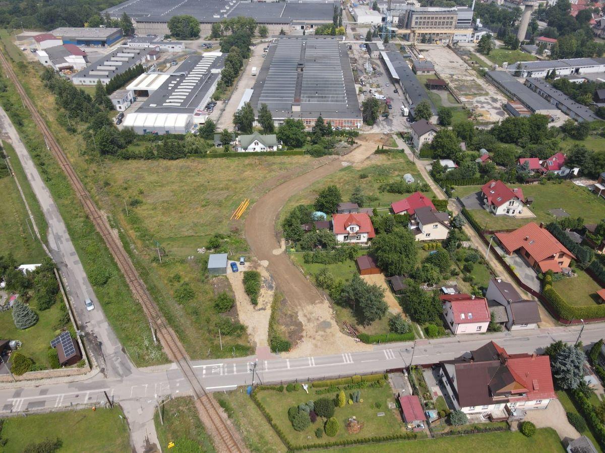 W Andrychowie budują nową drogę [FOTO]