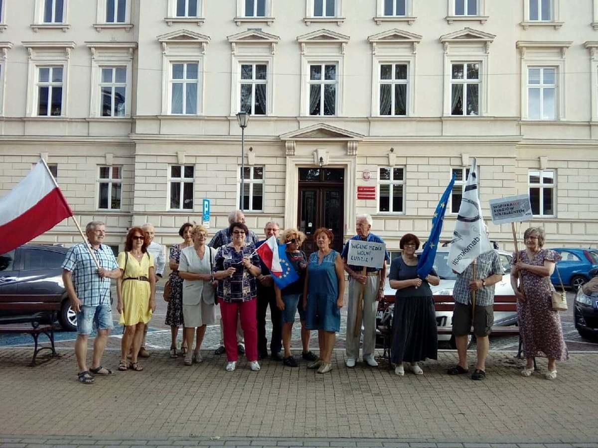 Protestowali przeciwko wyjściu Polski z Unii Europejskiej
