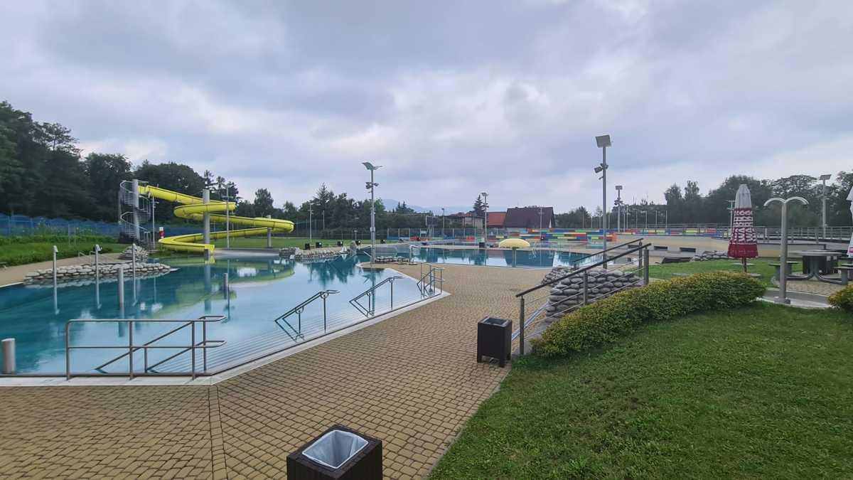 Jaka temperatura wody w basenie w Andrychowie?