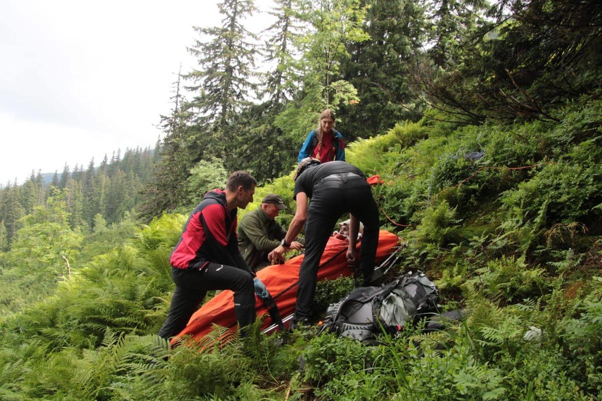 Wypadek z rejonie Babiej Góry