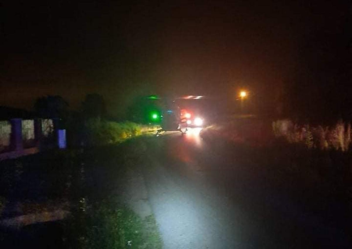 Kierowca skutera ranny w nocnym wypadku