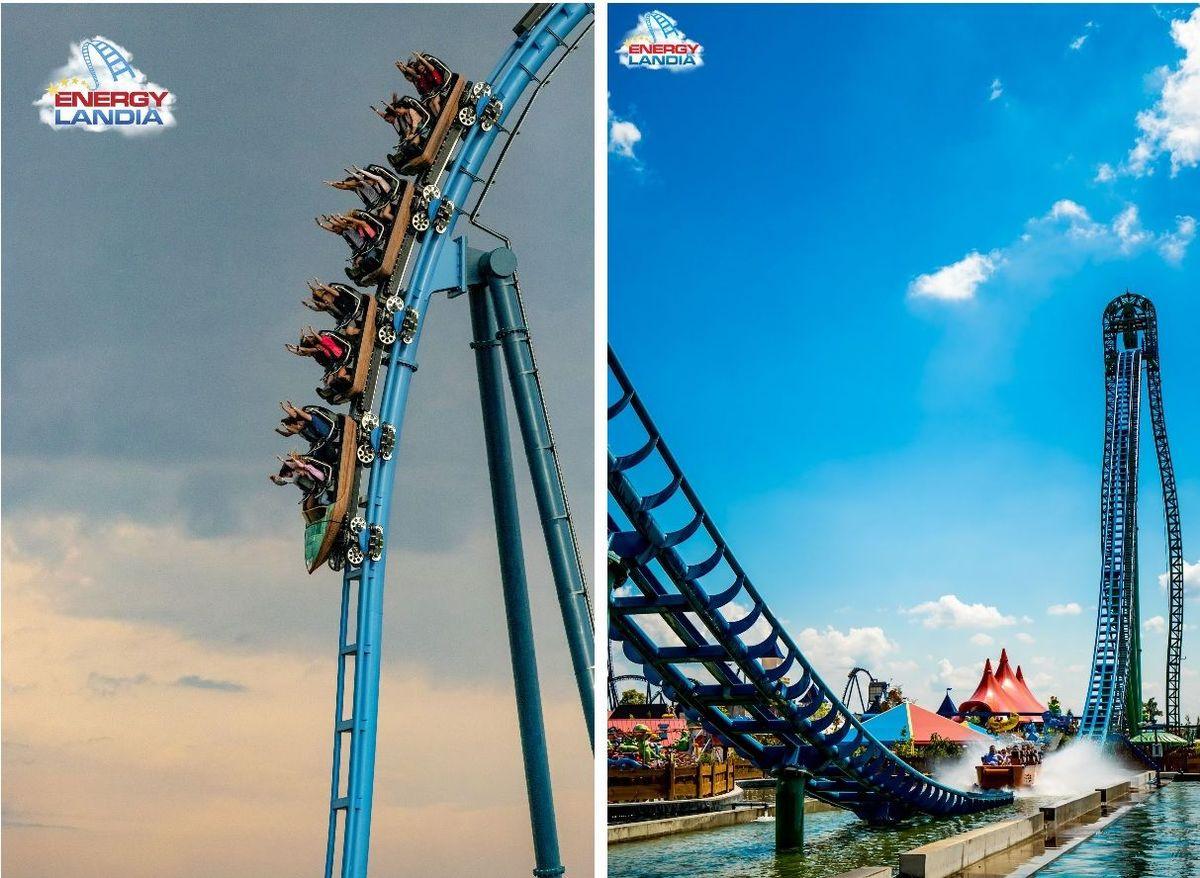 TOP10 największych roller coasterów w Energylandii [FOTO]
