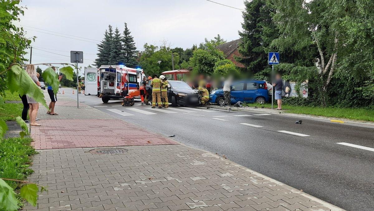 Poważny wypadek w Czańcu