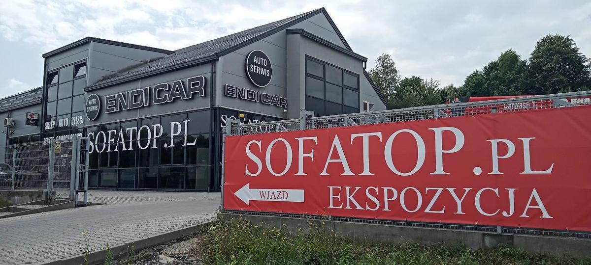 Nowo otwarty salon meblowy Sofatop.pl w Kleczy Dolnej  ZAPRASZA!!