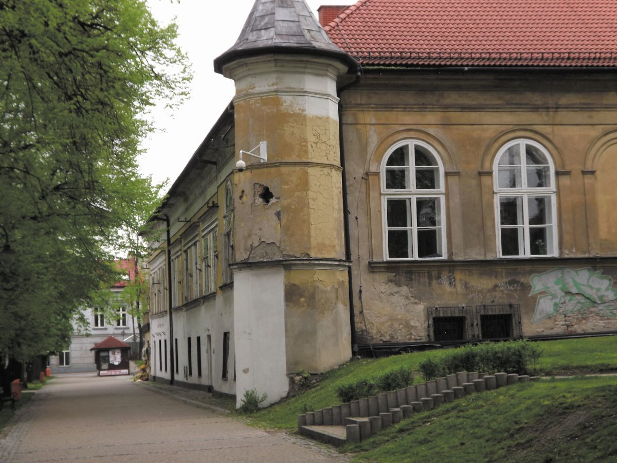 W sierpniu pierwsze prace w zamku w Andrychowie