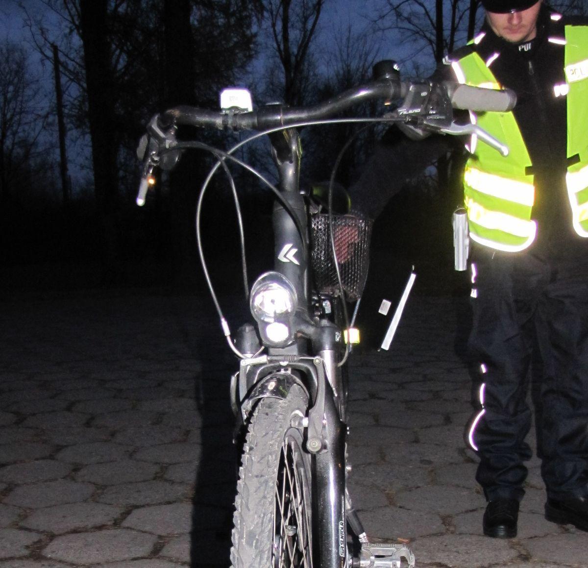 Piją i wsiadają na rower. Kilku rowerzystów wpadło w ręce policji