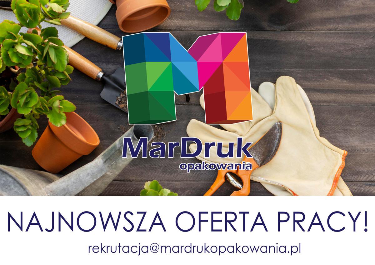MarDruk Opakowania zatrudni osobę do prac ogrodowych