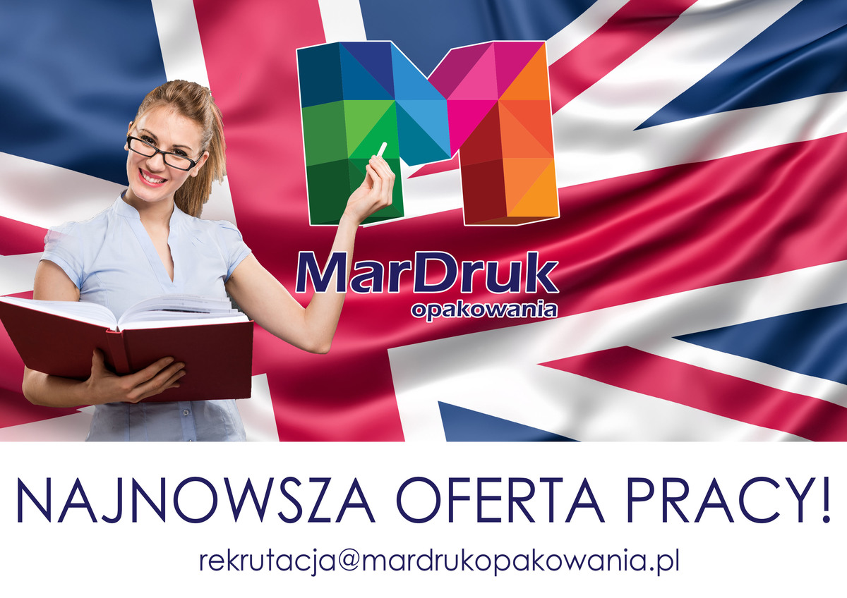MarDruk Opakowania zatrudni nauczyciela języka angielskiego