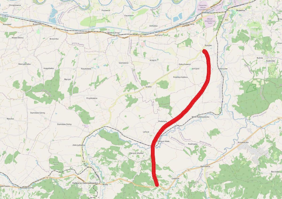 Będzie nowa droga łącząca gminy w powiecie wadowickim ze Skawiną?