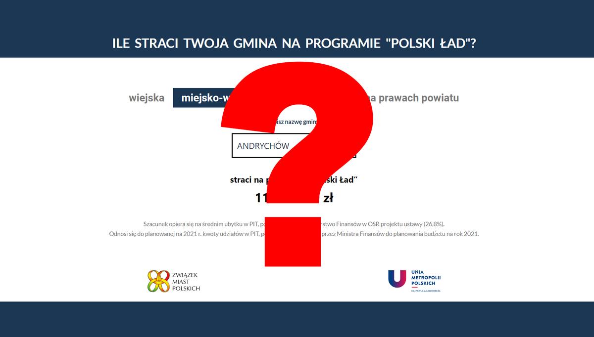 Ile gminy stracą na Polskim Ładzie?