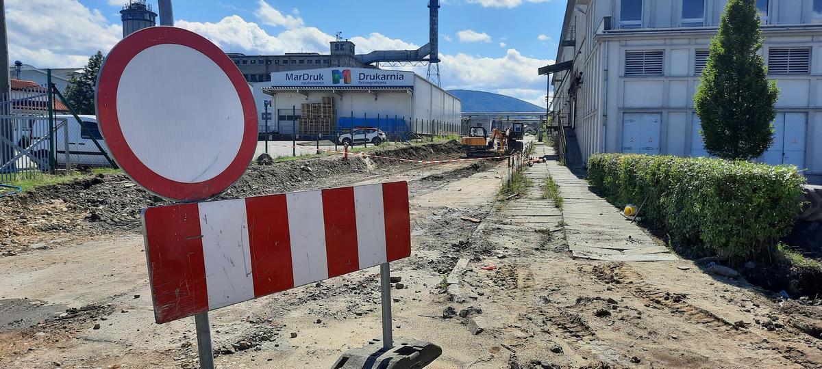 Tak powstaje nowa droga w Andrychowie [FOTO]