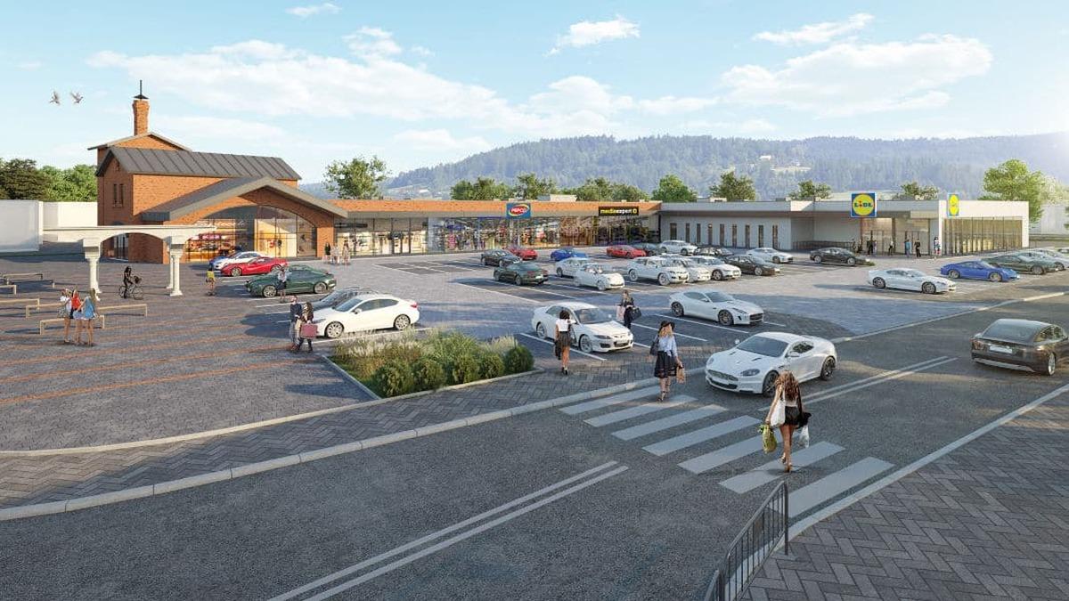 Powstaje nowe centrum handlowe. Ozdobi go odbudowana wieża browaru