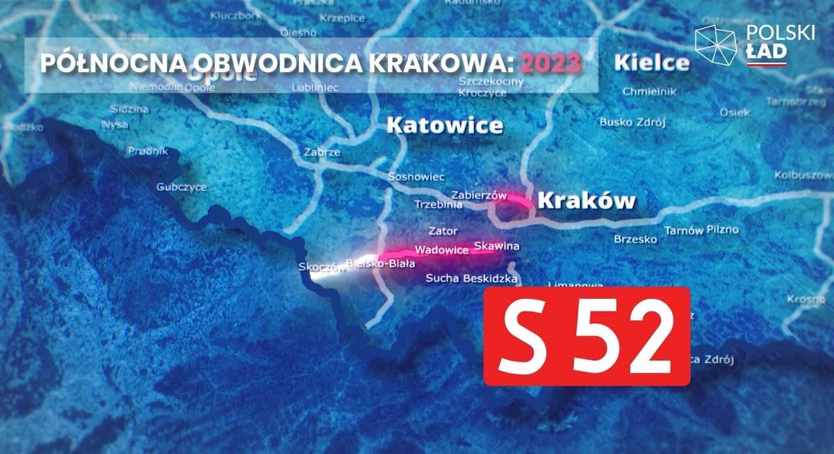 Powstanie nowa droga z Krakowa do Bielska-Białej