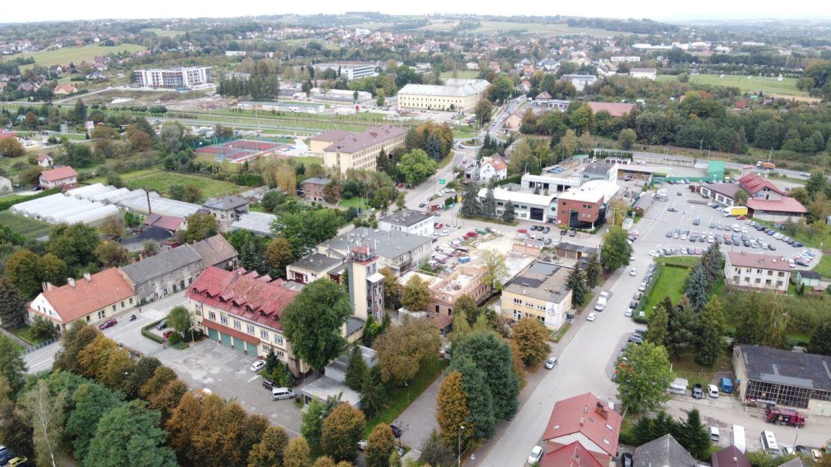 Geodeci wyjdą w teren w Andrychowie. Nie będą wchodzić do budynków