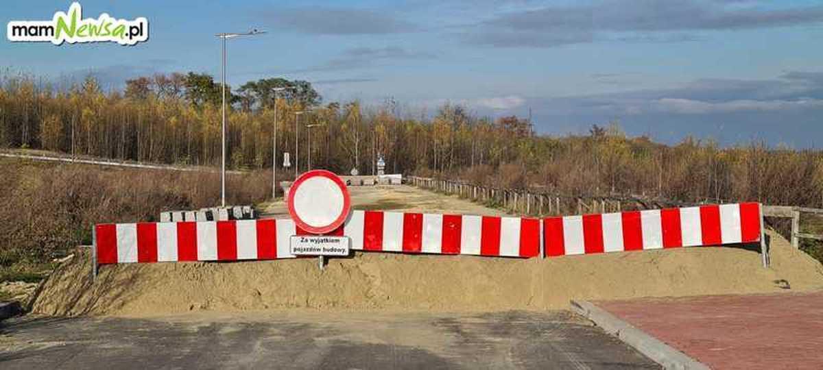 Wiadomo, kto dokończy budowę i naprawi usterki w strefie ekonomicznej w Andrychowie