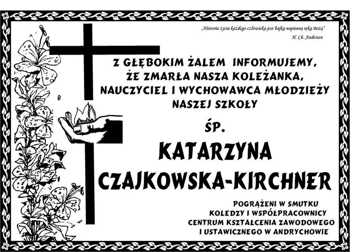 Zmarła nauczycielka CKZiU Andrychów
