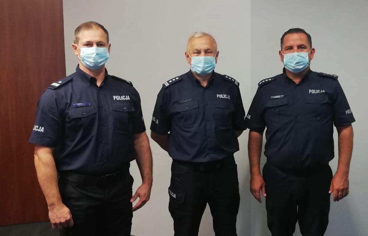 Zmiany w policji w Kętach