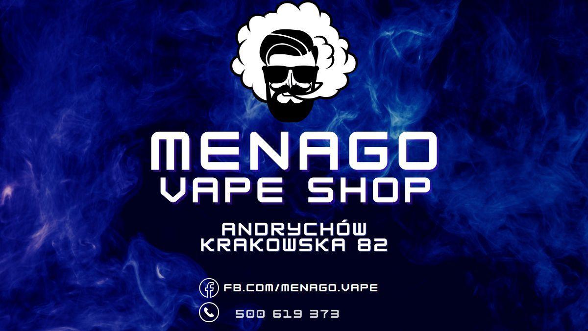 Menago Vape Shop. Nowy wymiar e-palenia w Andrychowie