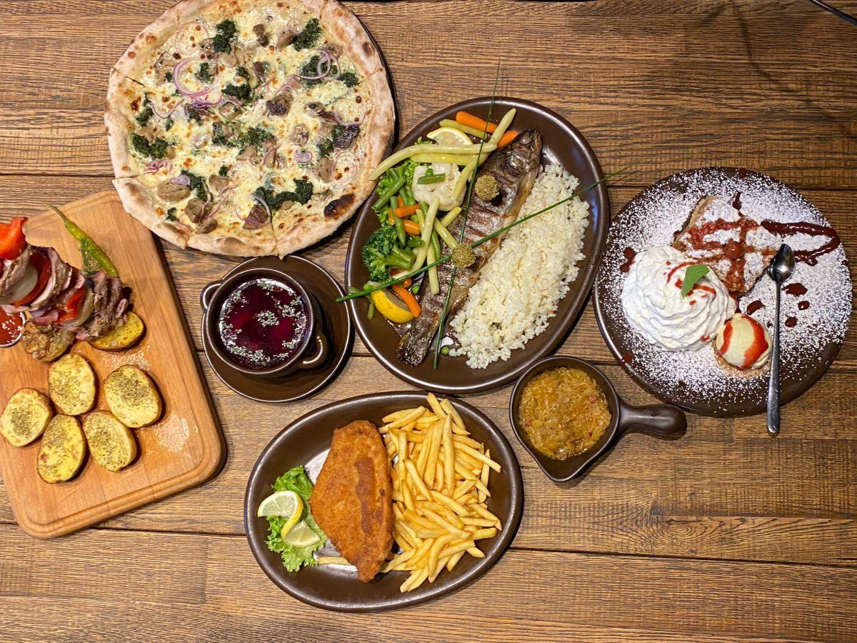 Nowości w menu w Oberży i restauracji