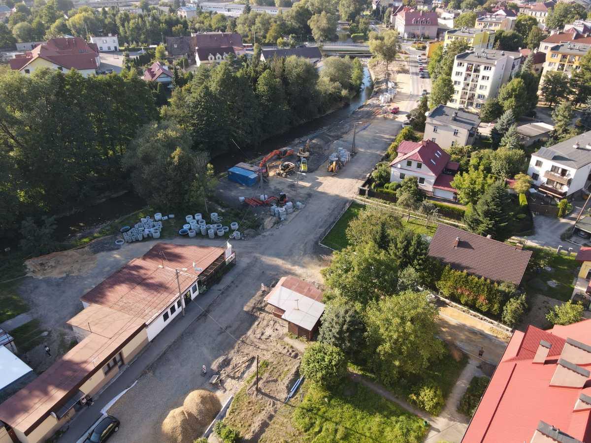 Trwa remont osiedla w Andrychowie [FOTO]