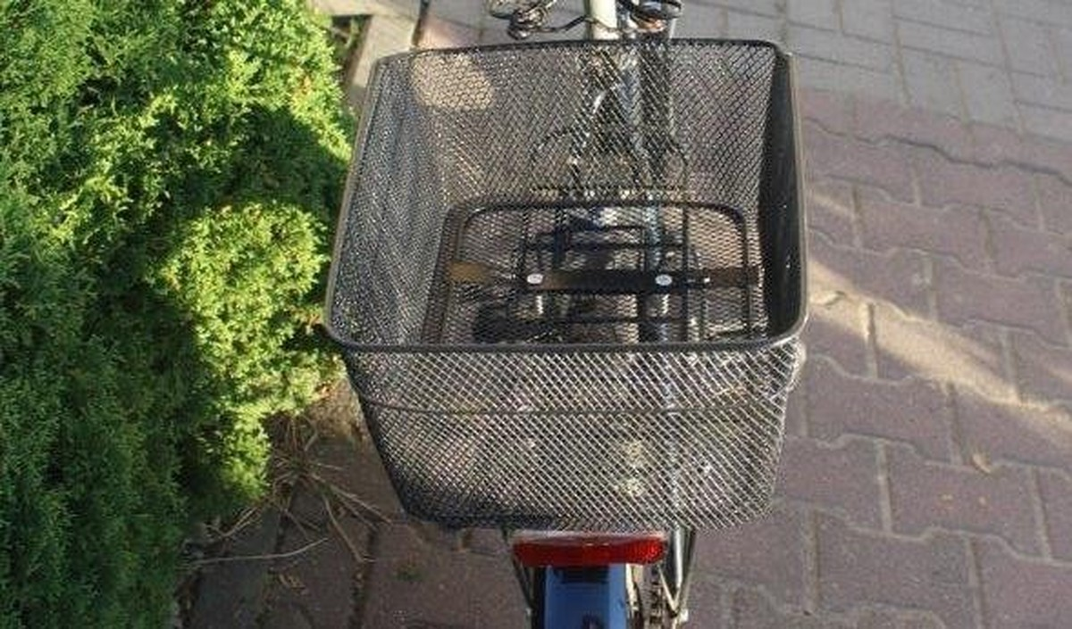Niedługo cieszył się skradzionym rowerem