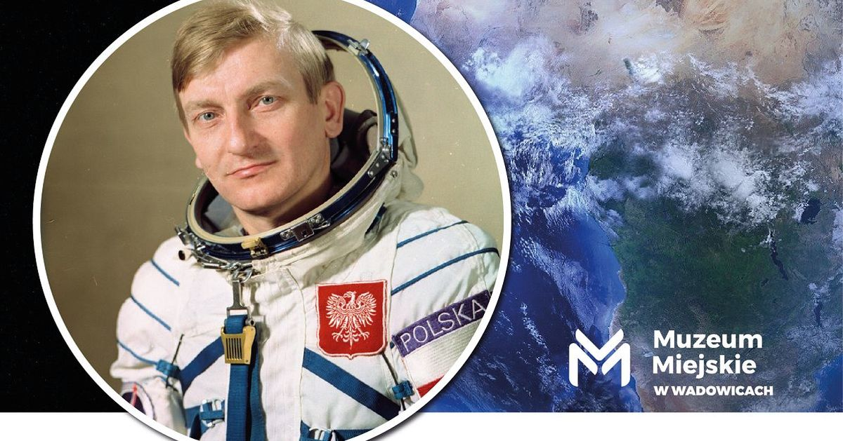 Zaproszenie na spotkanie z Mirosławem Hermaszewskim