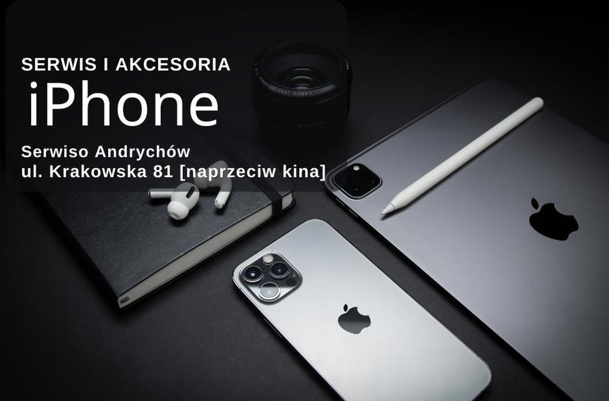 Serwis i akcesoria iPhone w Andrychowie