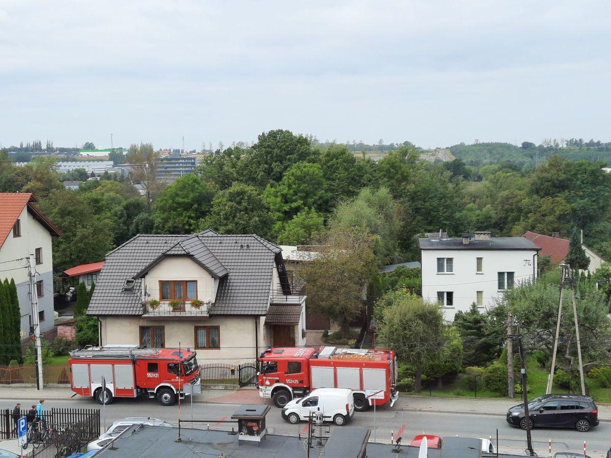 Akcja strażaków na Starowiejskiej